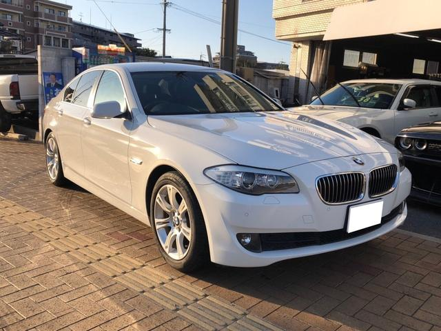 BMW 523dブルーパフォーマンス ナビ パワーシート HIDヘッドライト 革シート