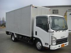 エルフトラック標準2トンロング アルミバン フルフラットロー Dターボ