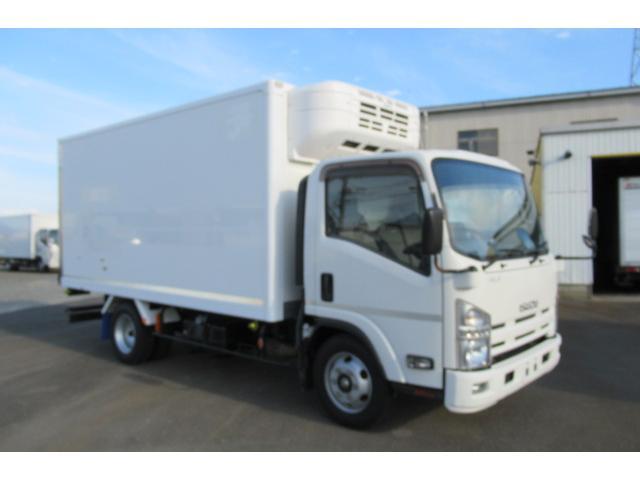 いすゞ エルフトラック ワイドロング冷蔵冷凍車マイナス5℃〜30℃設定