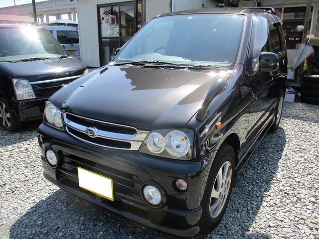 ダイハツ キスマークX4WD エアロ 純正アルミ 社外ナビ&テレビ