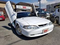 フォード マスタングGリミテッド ガルウィング仕様 ディーラー車