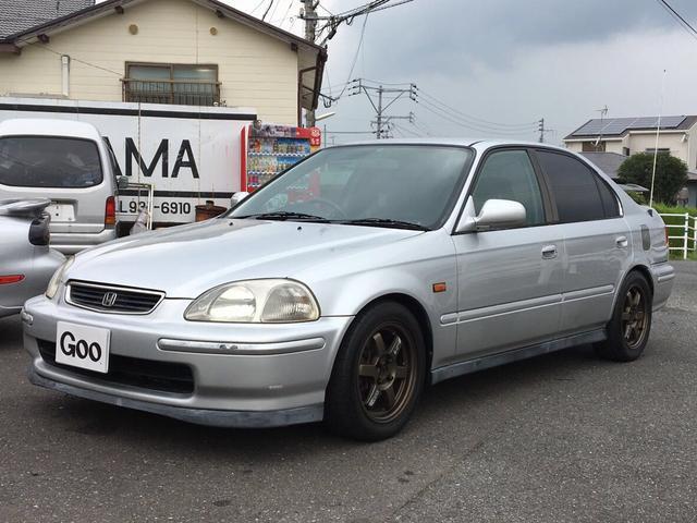 ホンダ Si B16A 5速MT マフラー 車高調