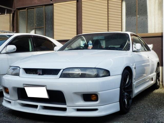 日産 GT-R フルエアロ・18インチアルミ・車高調・マフラー