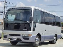 シビリアンバスマニュアル車 自動ドア カロッツェリアナビ 後席モニター
