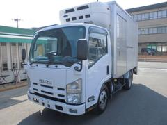 エルフトラック2.75t低温冷蔵冷凍格納パワーゲート バックカメラ