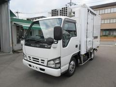 エルフトラック2トン低温冷凍 スタンバイ バックカメラ