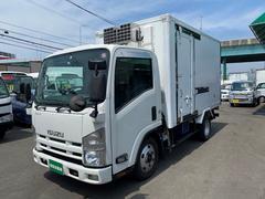 エルフトラック2トンセミロング−30℃設定低温冷凍車 オートマ スタンバイ