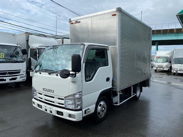 いすゞ エルフトラック 2トンアルミバンパワーゲート ナビ カメラ 5トン未満