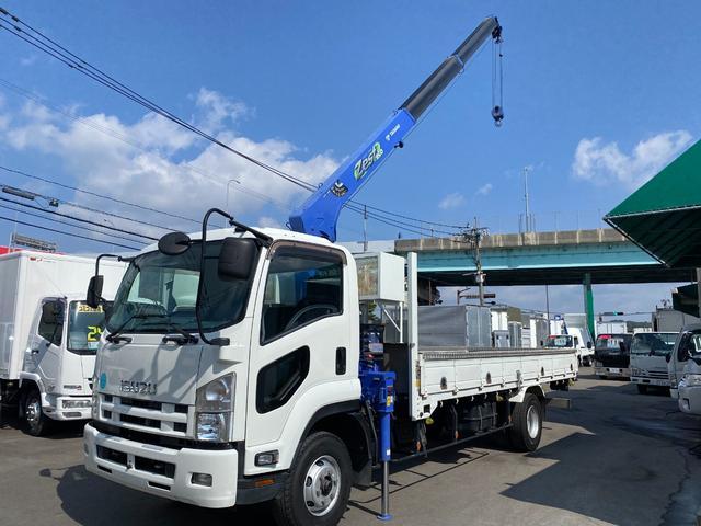 いすゞ  2.9トン吊タダノZE303H3段クレーン ラジコン フックイン 積載2100kg ETC
