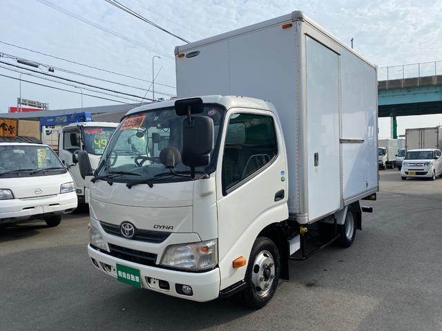 トヨタ ダイナトラック フルジャストロー 2トンアルミバン オートマ サイドドア バックカメラ 荷室内高215cm