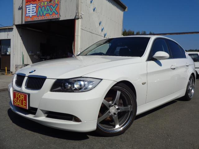 BMW 325I サンルーフ 黒革 純正ナビ 19インチアルミ