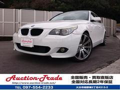 BMW525i Mスポーツ仕様 車高調 左ハンドル バックカメラ