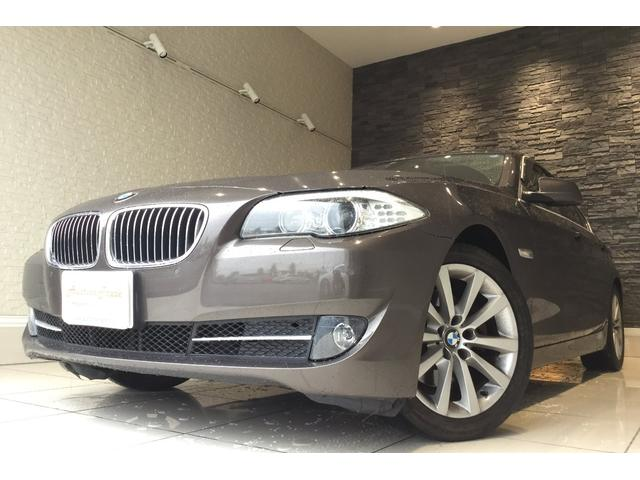 BMW 523i ハイラインパッケージ 革シート 純正HDDナビ