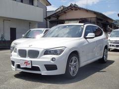 BMW X1sDrive 20i Mスポーツ 純正HDDナビ CD