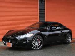 マセラティ グランカブリオ4.7 正規D車左H黒革SHDDナビ1オーナーパドルSBモニ
