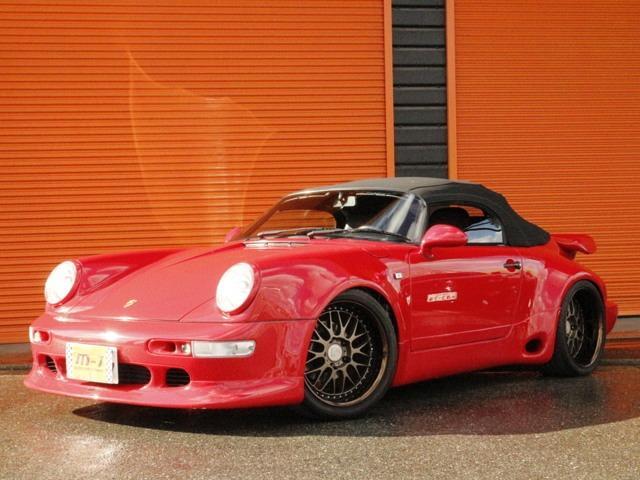 ポルシェ 911カレラ2 スピードスターTB仕様正規D車純正パーツ有