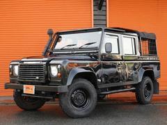 ランドローバー ディフェンダー110 BlackPickUp D車右HD−TB