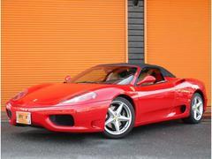 フェラーリ 360F1スパイダー 正規D車左H可変マフラーFRチャレグリ七宝焼