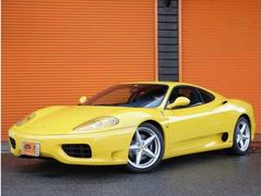 フェラーリ 360モデナF1正規D車左H青本革Sフルノーマル車両