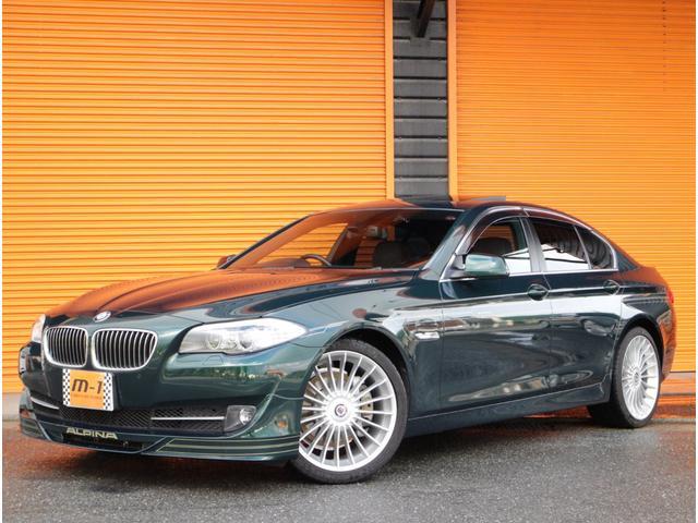 BMWアルピナ ターボ リムジンD車本革SSRHDDナビTVD-TB8AT