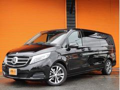 M・ベンツV220dアバンGエクストラL正規D車黒革S両側パワスラ