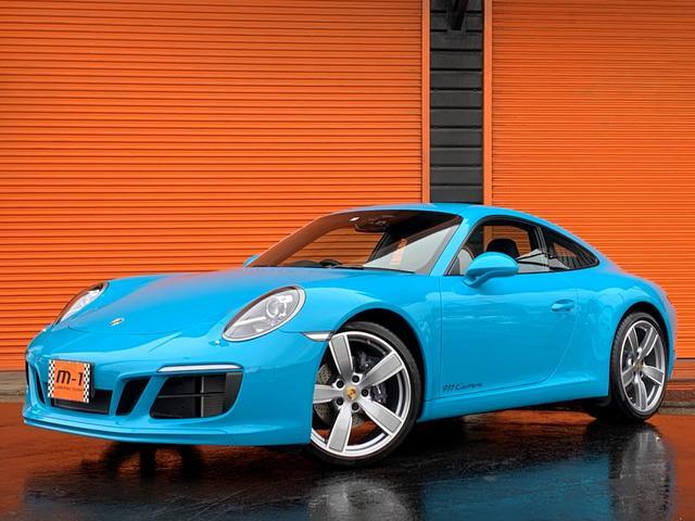 ポルシェ 911 911カレラ 正規D車黒革S純正7速SportsDesignPkgOP20AW