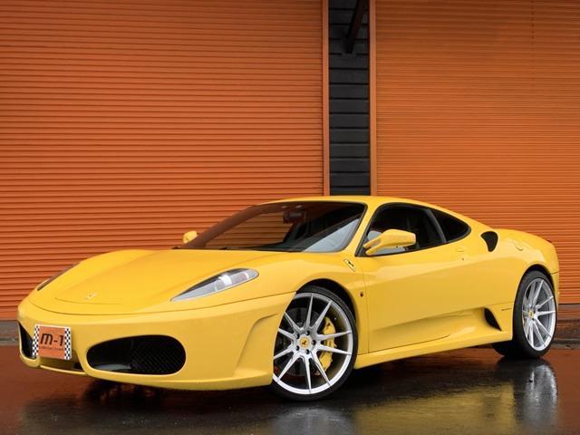 フェラーリ F430 F1 可変マフラー20AW黒革レカロクラッチXX済