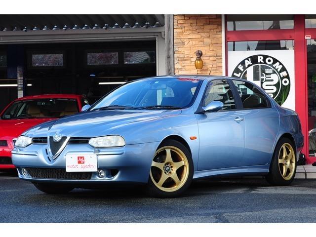 アルファロメオ 2.5 V6 24V 本革シート アルミホイール