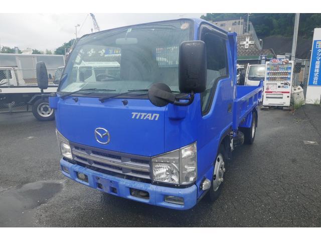マツダ タイタントラック 2T低床ダンプ Dターボ