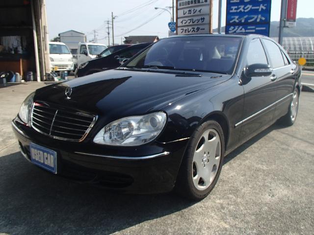 メルセデス・ベンツ S500ロング フルセグナビ SR 黒革