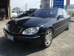 M・ベンツS500ロング フルセグナビ SR 黒革