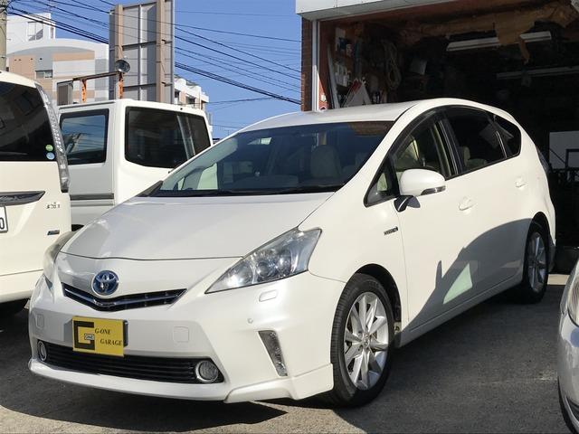 トヨタ プリウスアルファ Sツーリングセレクション 純正HDDナビ バックカメラ 地デジ