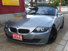 BMW Z4ロードスター2.5i 社外19アルミ 社外マフラー 革シート