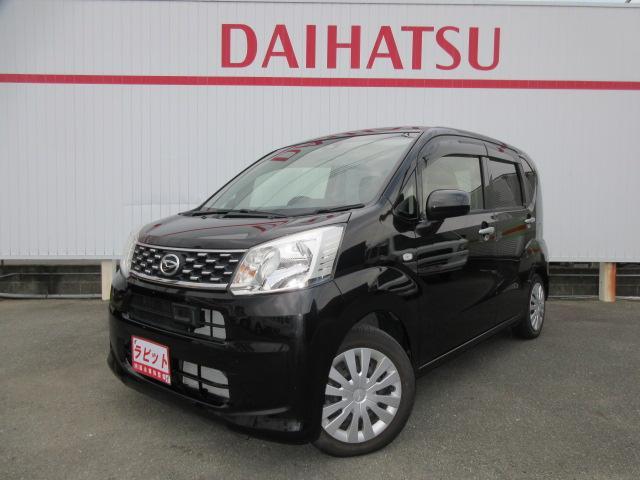 ダイハツ L SAII 黒革調シートカバー・軽減ブレーキ・エコアイドル