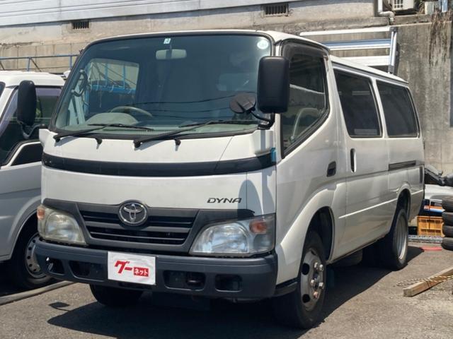 トヨタ ベースグレード 5速 観音扉 積載量2t ディーゼル車