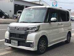 タントカスタムX トップエディションSAIII ナビ地デジ