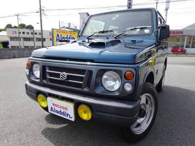 スズキ ジムニー XS 4WD ターボ 純正16AW 5MT