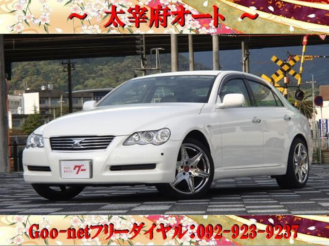 トヨタ マークX 250G Fパッケージ DVDナビ バックカメラ キーレス