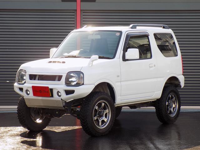 スズキ XC 4WD 5速MT リフトアップ 社外バンパー 16AW