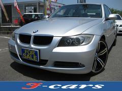 BMW320i 社外ナビ 社外19インチAW イカリング ETC