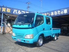 ダイナトラック1.2トンWキャブ低床