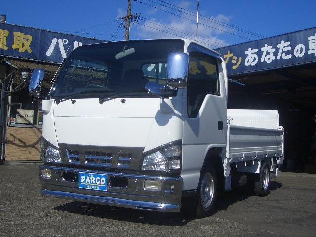 日産 アトラストラック  1.45トン超低床 パワ-ゲ-ト ワンオ-ナ-車 3ペダル メッキパ-ツ 内装クリーニング済み