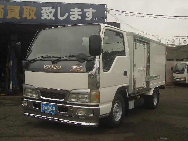 いすゞ 1.6トンカスタム冷蔵冷凍車