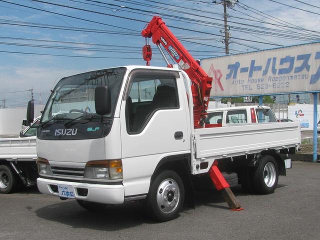いすゞ 2t積 ユニック簡易クレーン 4.3ディーゼル