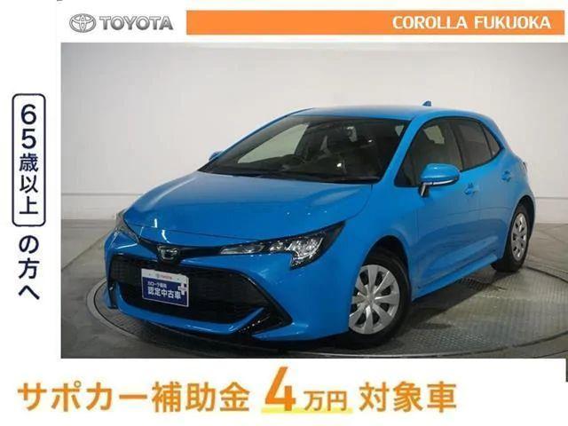 「トヨタ」「カローラスポーツ」「コンパクトカー」「福岡県」の中古車