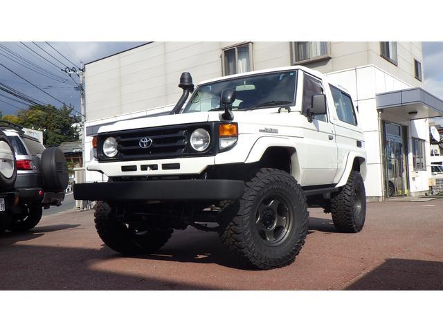 トヨタ LX3インチUP公認 73最終型 デフロック ブラッドレーV