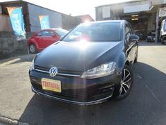 VW ゴルフTSIハイライン ACC DCC 本革 ナビ TV 正規D車