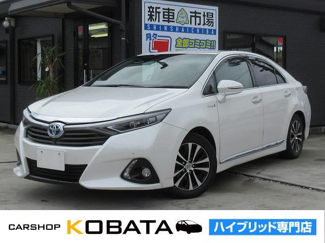 トヨタ G メーカーナビ F&Bカメラ 本革シート 1年保証付