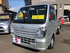 キャリイトラックKCエアコン・パワステ 4WD 5速MT 荷台プロテクター