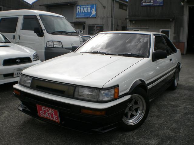 トヨタ GT APEX 外装同色塗装済 92エンジン ロンシャンAW
